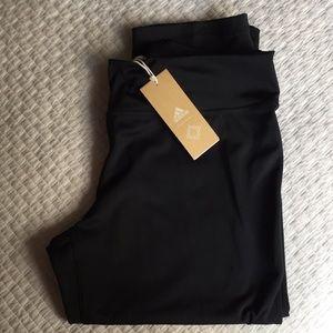adidas crop yoga pants